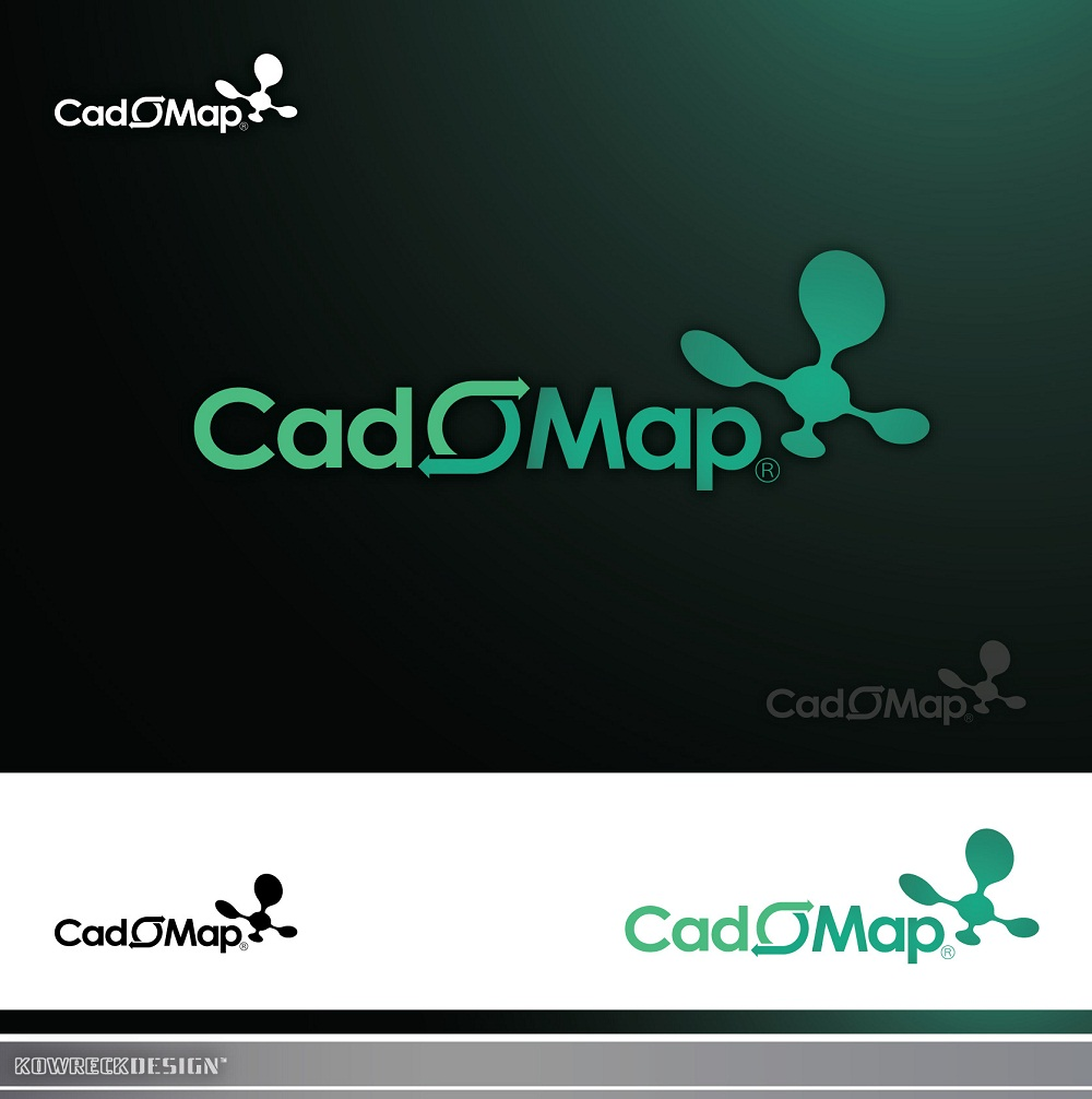 Logo Design by kowreck - Entry No. 101 in the Logo Design Contest Captivating Logo Design for CadOMap software product.