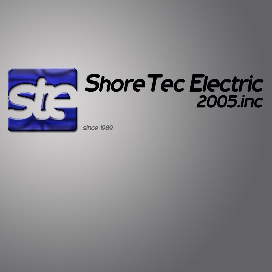Logo Design by lapakera - Entry No. 73 in the Logo Design Contest Shore Tec Electric 2005 Inc.