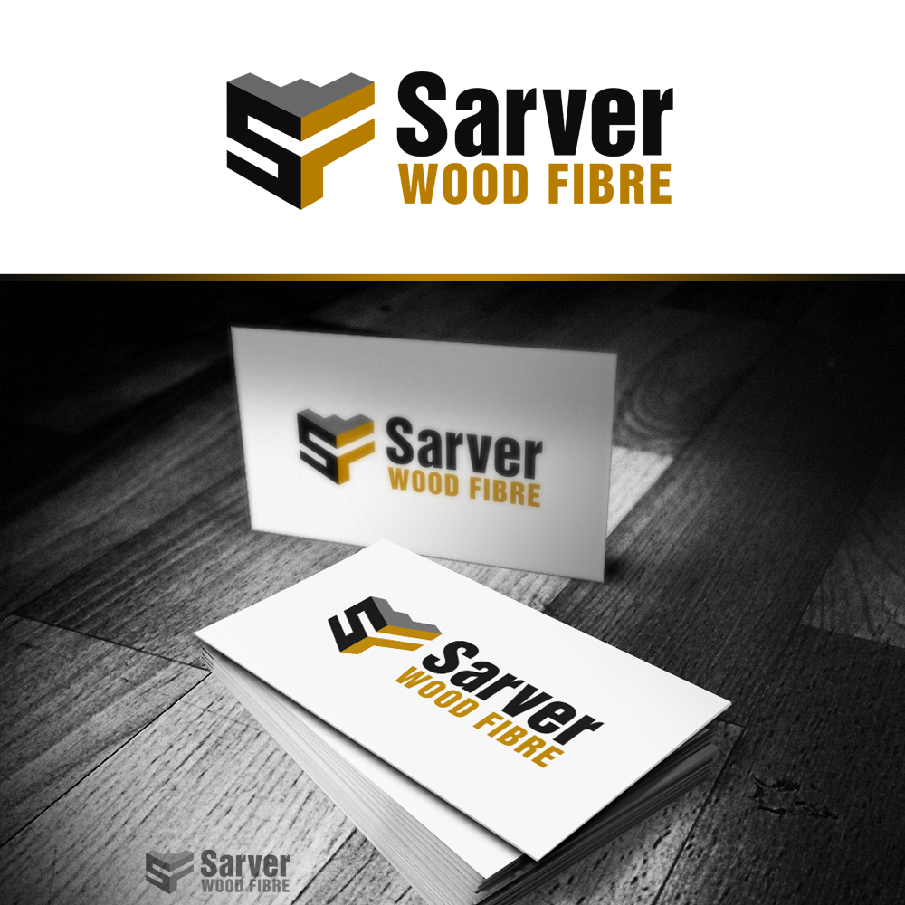 Logo Design by omARTist - Entry No. 68 in the Logo Design Contest Creative Logo Design for Sarver Wood Fibre..