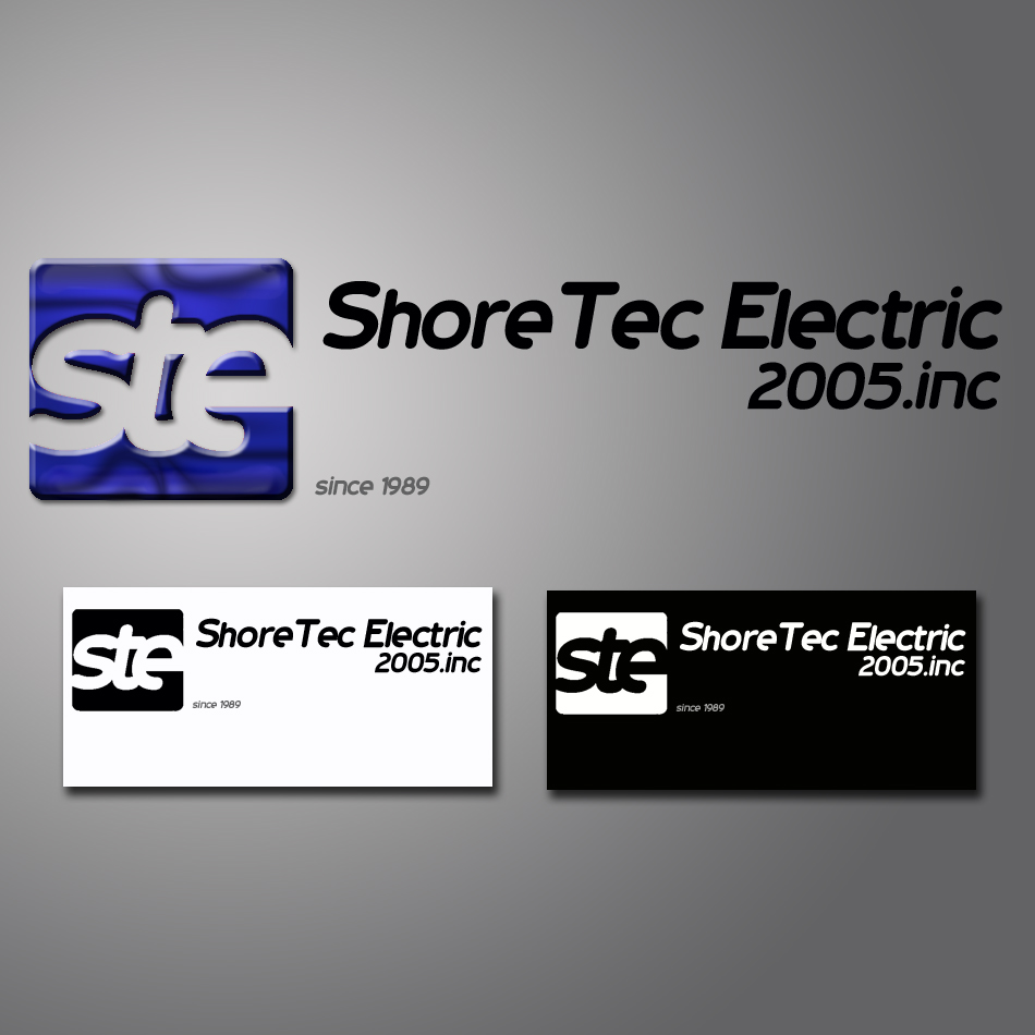 Logo Design by lapakera - Entry No. 74 in the Logo Design Contest Shore Tec Electric 2005 Inc.