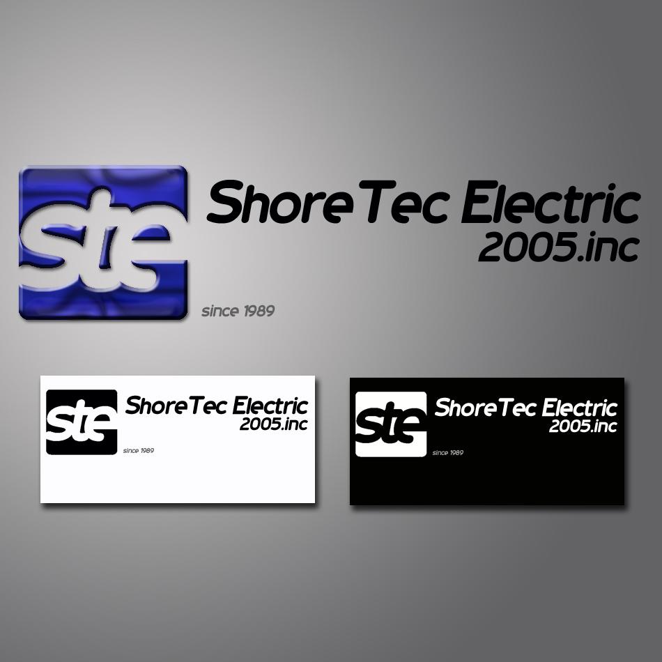Logo Design by lapakera - Entry No. 74 in the Logo Design Contest Shore Tec Electric 2005 Inc.
