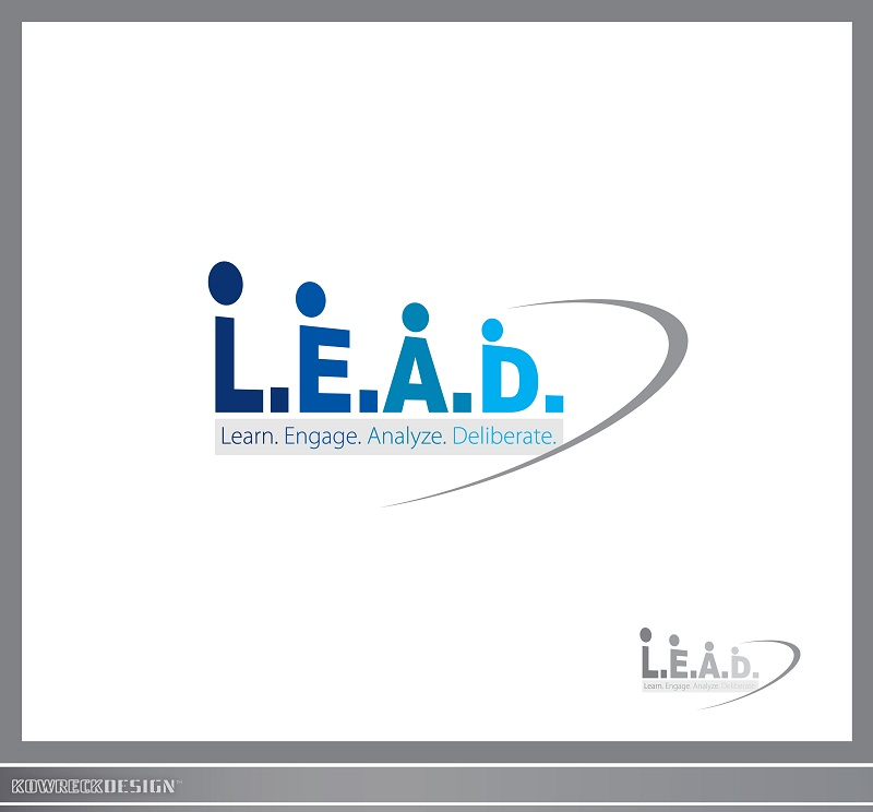 Logo Design by kowreck - Entry No. 28 in the Logo Design Contest L.E.A.D. (learn, engage, analyze, deliberate) Logo Design.