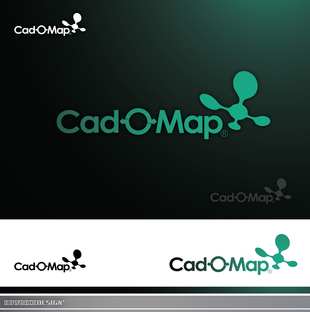 Logo Design by kowreck - Entry No. 106 in the Logo Design Contest Captivating Logo Design for CadOMap software product.