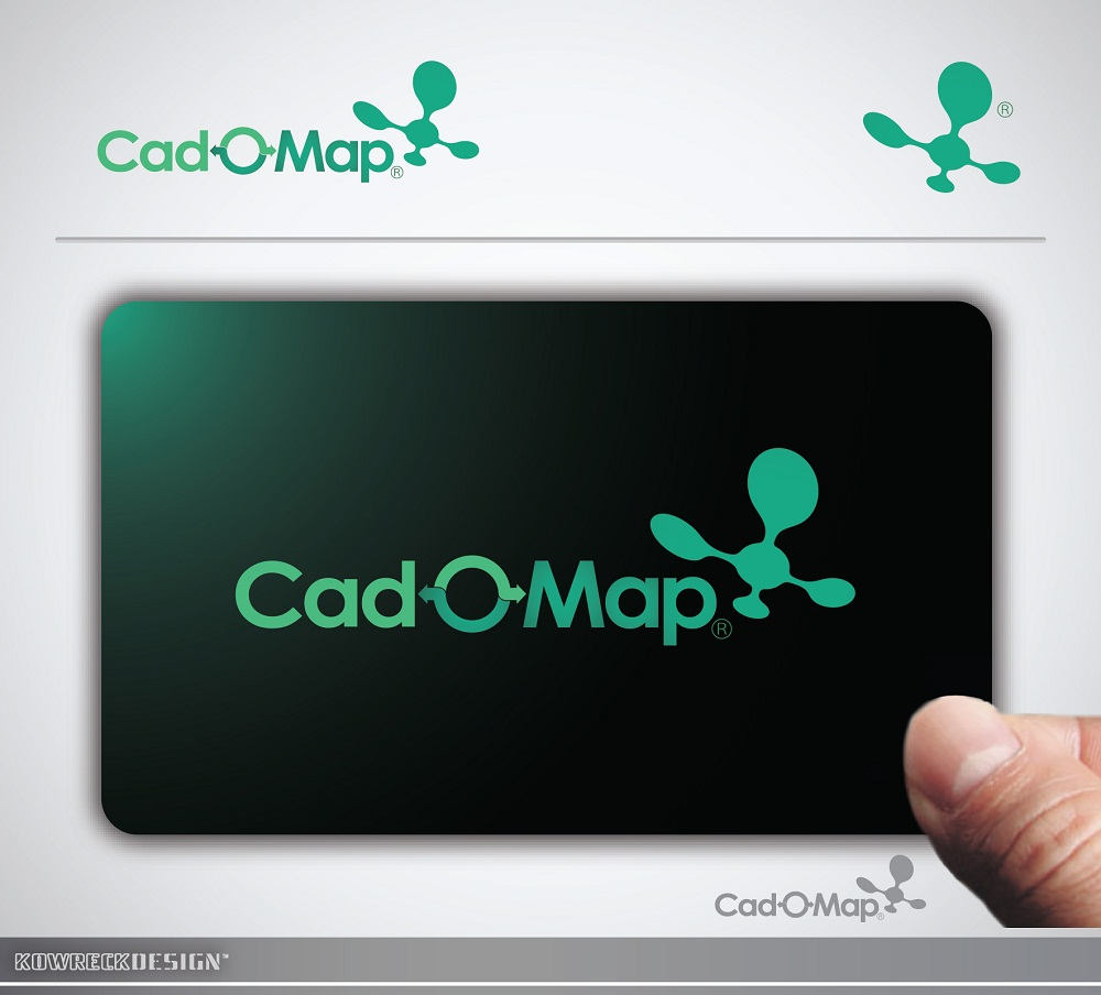 Logo Design by kowreck - Entry No. 108 in the Logo Design Contest Captivating Logo Design for CadOMap software product.