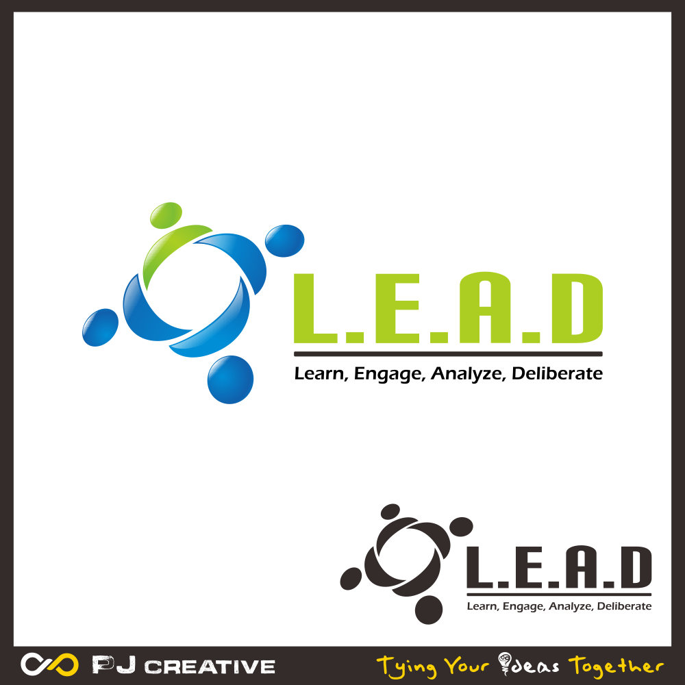 Logo Design by PJD - Entry No. 29 in the Logo Design Contest L.E.A.D. (learn, engage, analyze, deliberate) Logo Design.