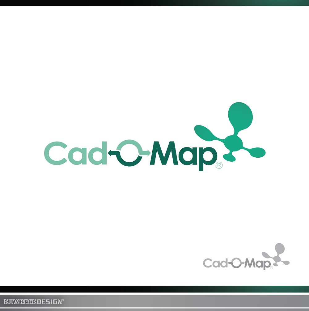 Logo Design by kowreck - Entry No. 109 in the Logo Design Contest Captivating Logo Design for CadOMap software product.