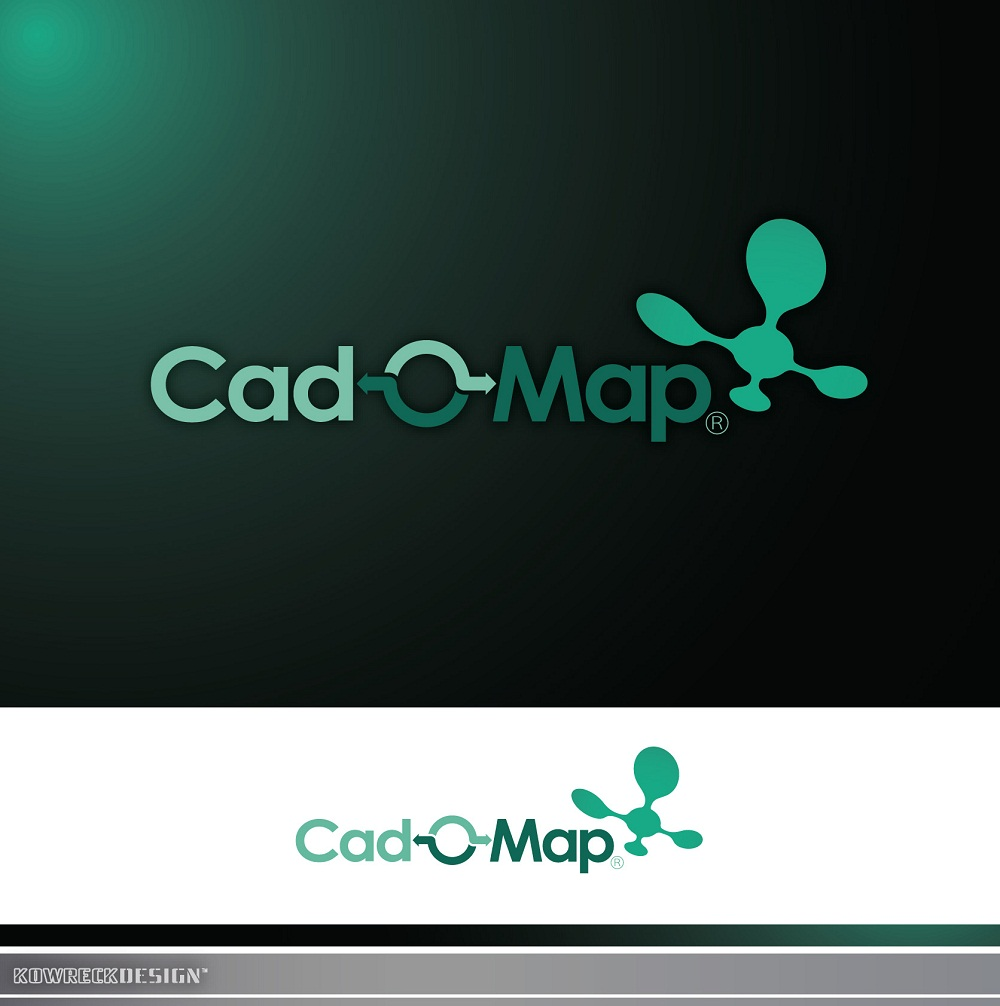 Logo Design by kowreck - Entry No. 110 in the Logo Design Contest Captivating Logo Design for CadOMap software product.