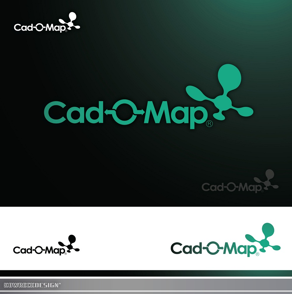Logo Design by kowreck - Entry No. 111 in the Logo Design Contest Captivating Logo Design for CadOMap software product.