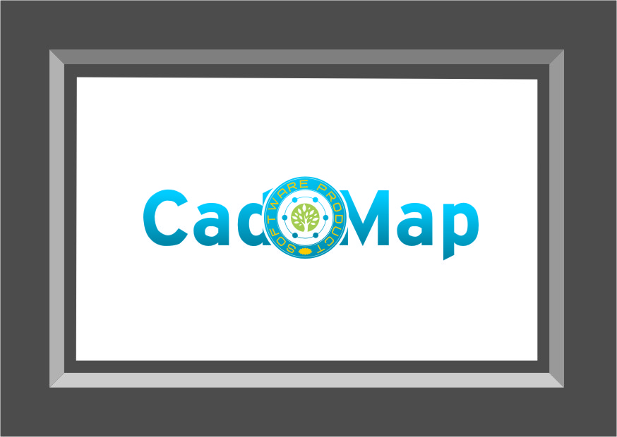 Logo Design by RasYa Muhammad Athaya - Entry No. 112 in the Logo Design Contest Captivating Logo Design for CadOMap software product.