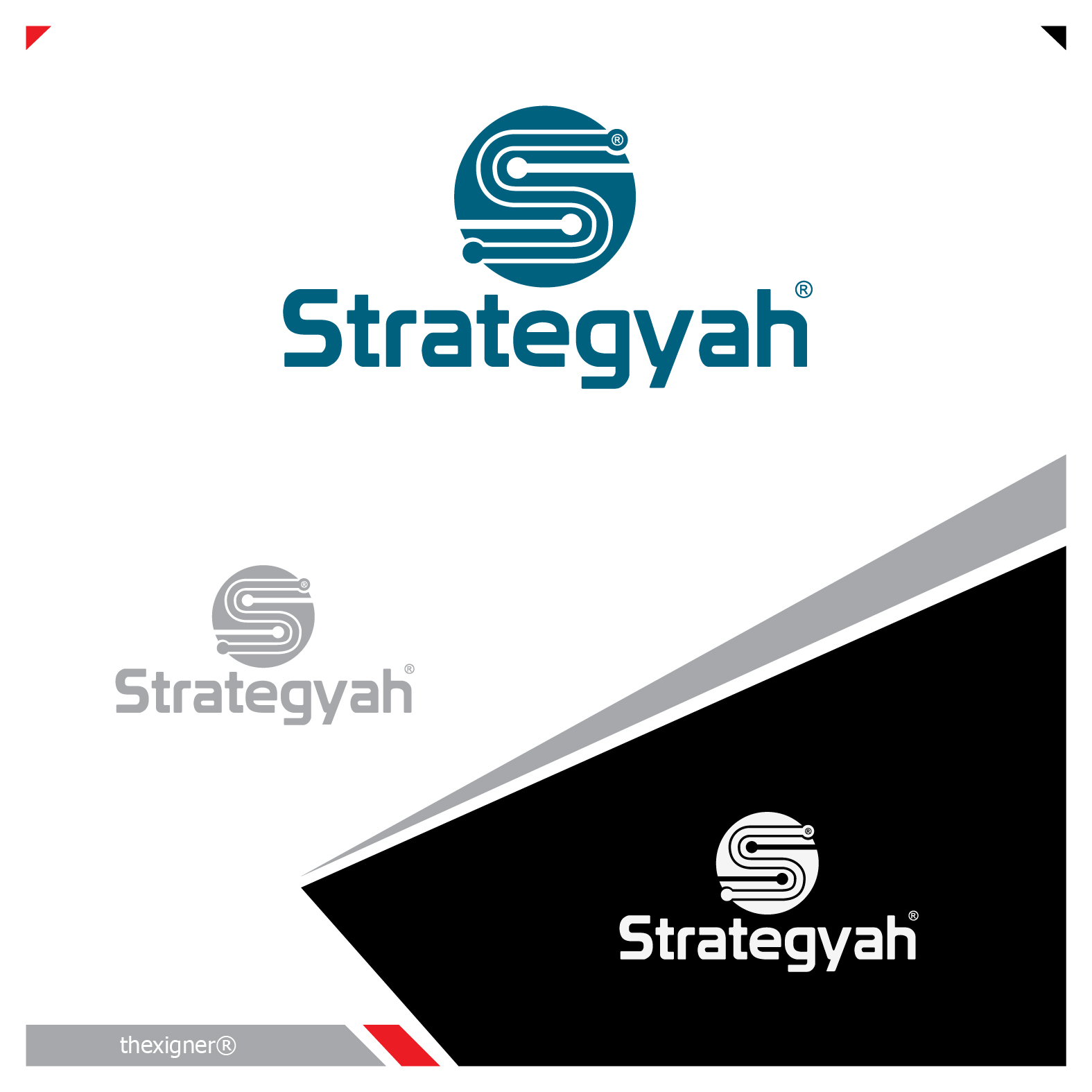 Logo Design by lagalag - Entry No. 225 in the Logo Design Contest Creative Logo Design for Strategyah.