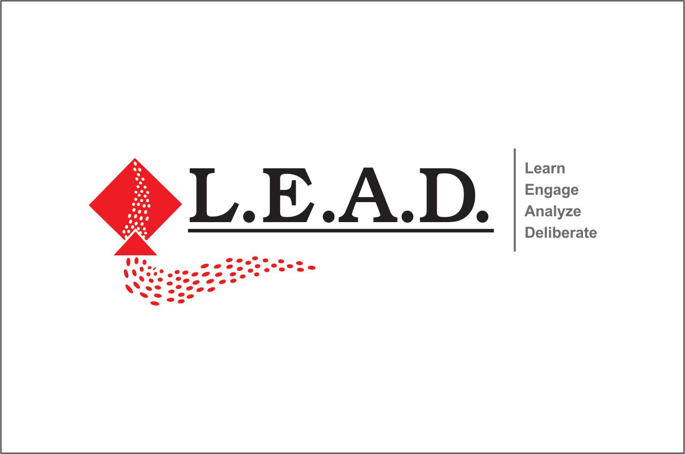 Logo Design by Rai - Entry No. 42 in the Logo Design Contest L.E.A.D. (learn, engage, analyze, deliberate) Logo Design.