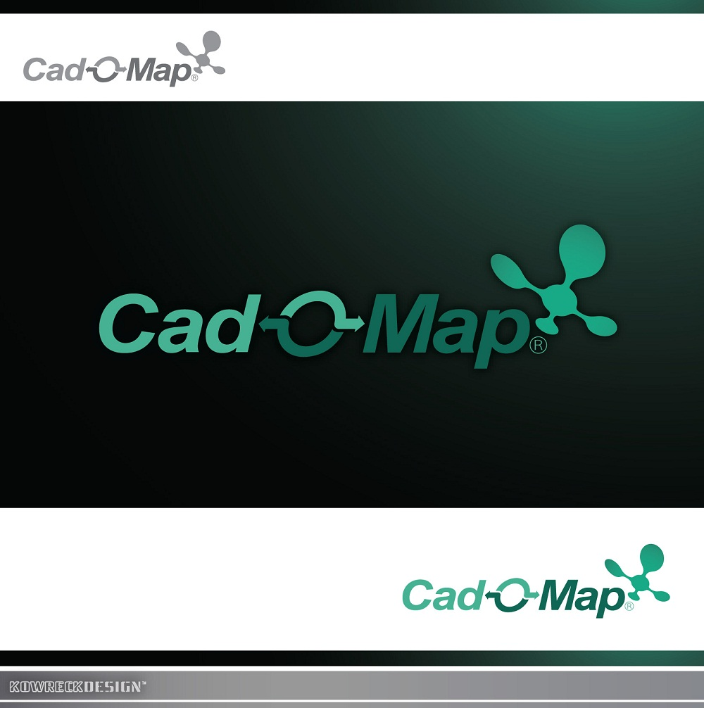 Logo Design by kowreck - Entry No. 115 in the Logo Design Contest Captivating Logo Design for CadOMap software product.