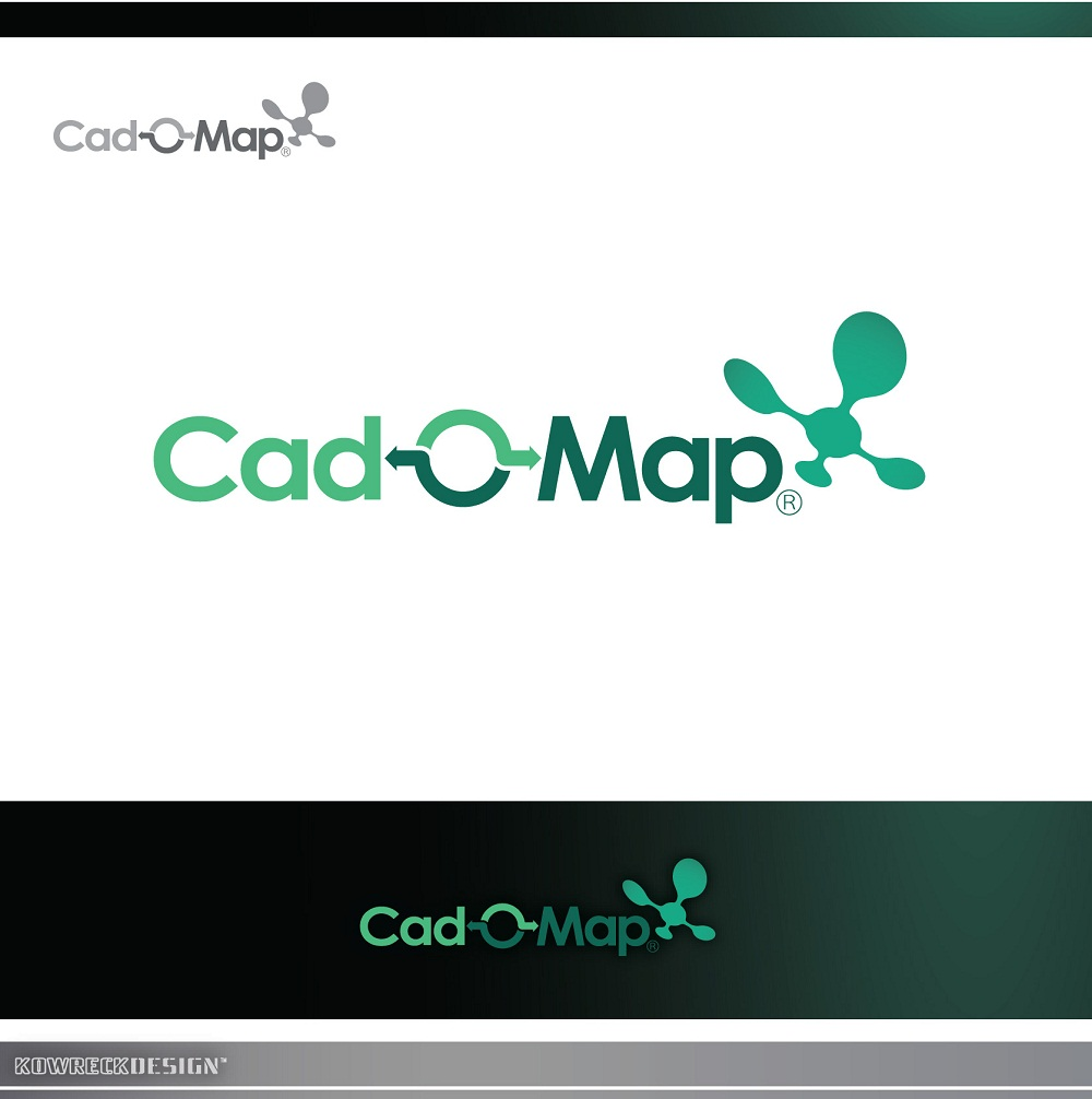 Logo Design by kowreck - Entry No. 116 in the Logo Design Contest Captivating Logo Design for CadOMap software product.