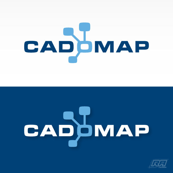 Logo Design by RA-Design - Entry No. 119 in the Logo Design Contest Captivating Logo Design for CadOMap software product.