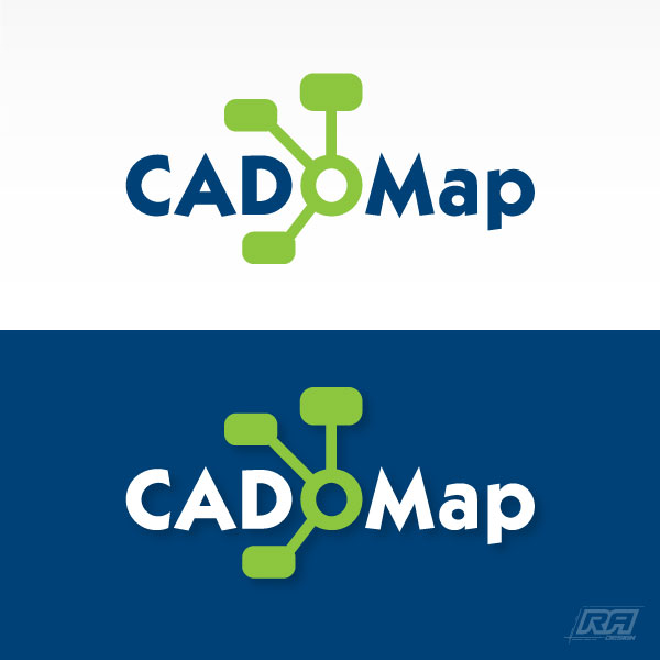 Logo Design by RA-Design - Entry No. 122 in the Logo Design Contest Captivating Logo Design for CadOMap software product.