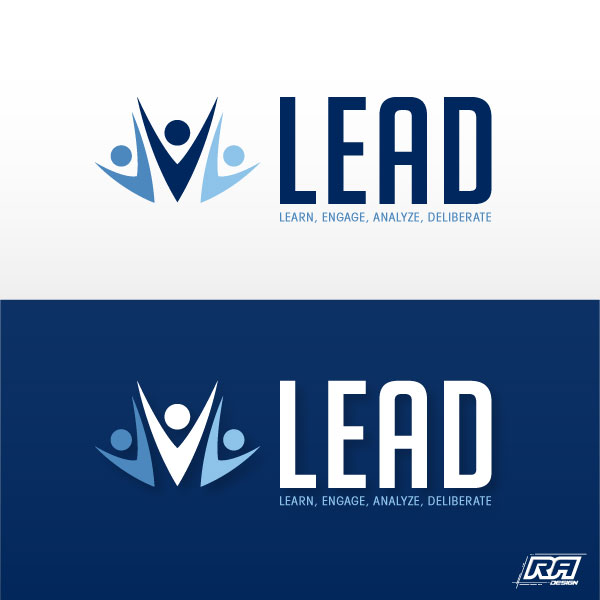 Logo Design by RA-Design - Entry No. 46 in the Logo Design Contest L.E.A.D. (learn, engage, analyze, deliberate) Logo Design.