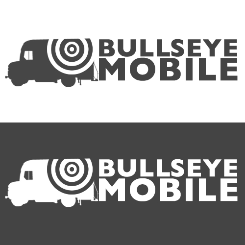 Logo Design by goodzach - Entry No. 16 in the Logo Design Contest Bullseye Mobile.
