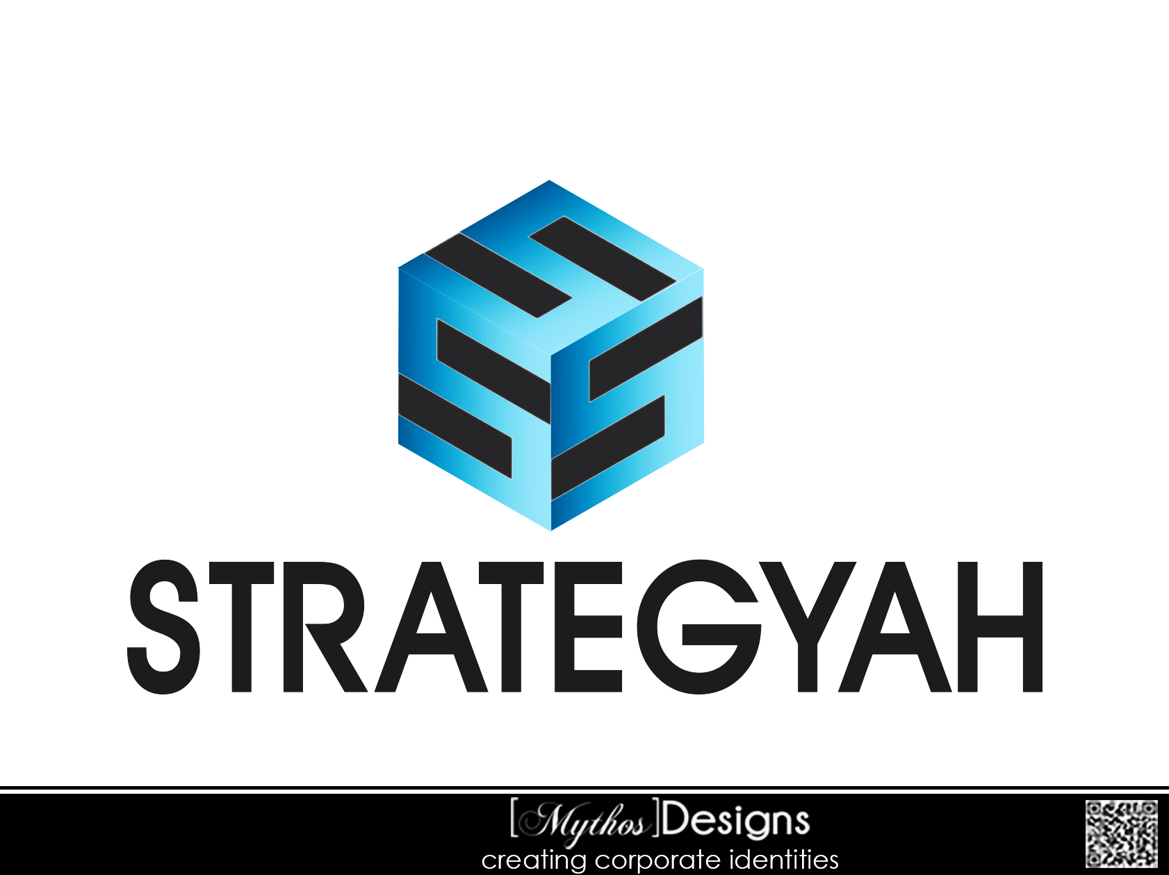 Logo Design by Mythos Designs - Entry No. 248 in the Logo Design Contest Creative Logo Design for Strategyah.
