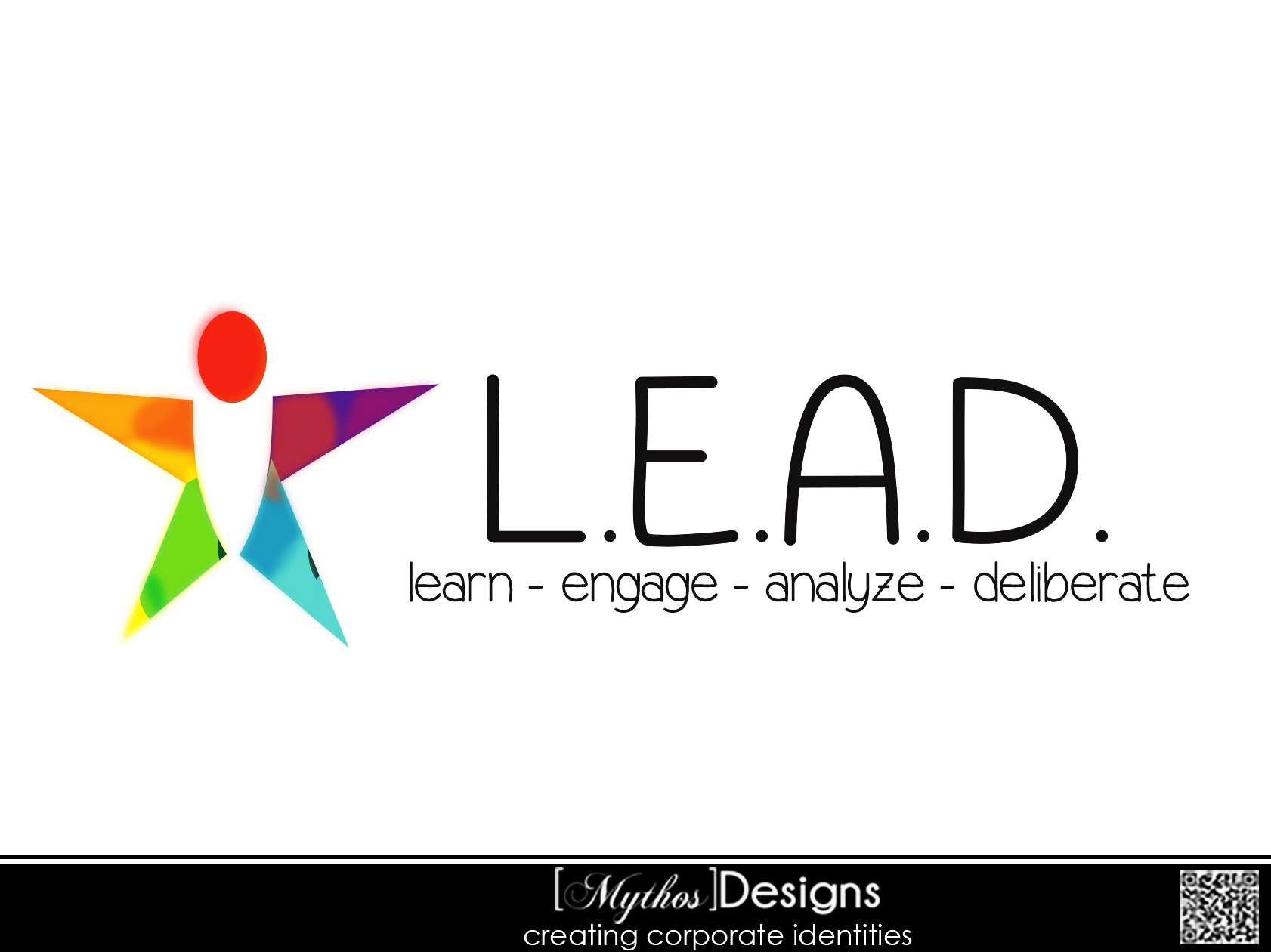 Logo Design by Mythos Designs - Entry No. 61 in the Logo Design Contest L.E.A.D. (learn, engage, analyze, deliberate) Logo Design.