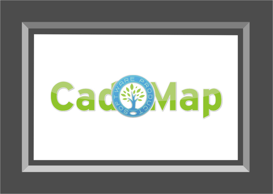 Logo Design by RasYa Muhammad Athaya - Entry No. 126 in the Logo Design Contest Captivating Logo Design for CadOMap software product.