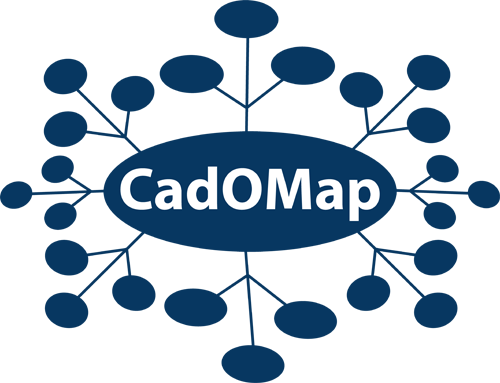 Logo Design by Lefky - Entry No. 129 in the Logo Design Contest Captivating Logo Design for CadOMap software product.