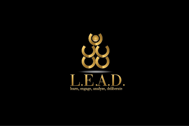 Logo Design by Digital Designs - Entry No. 75 in the Logo Design Contest L.E.A.D. (learn, engage, analyze, deliberate) Logo Design.