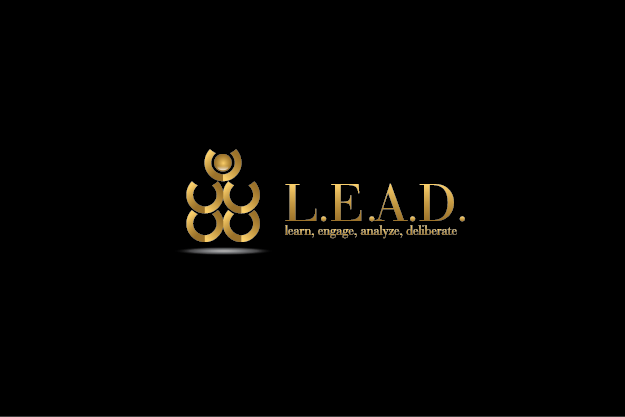 Logo Design by Digital Designs - Entry No. 77 in the Logo Design Contest L.E.A.D. (learn, engage, analyze, deliberate) Logo Design.