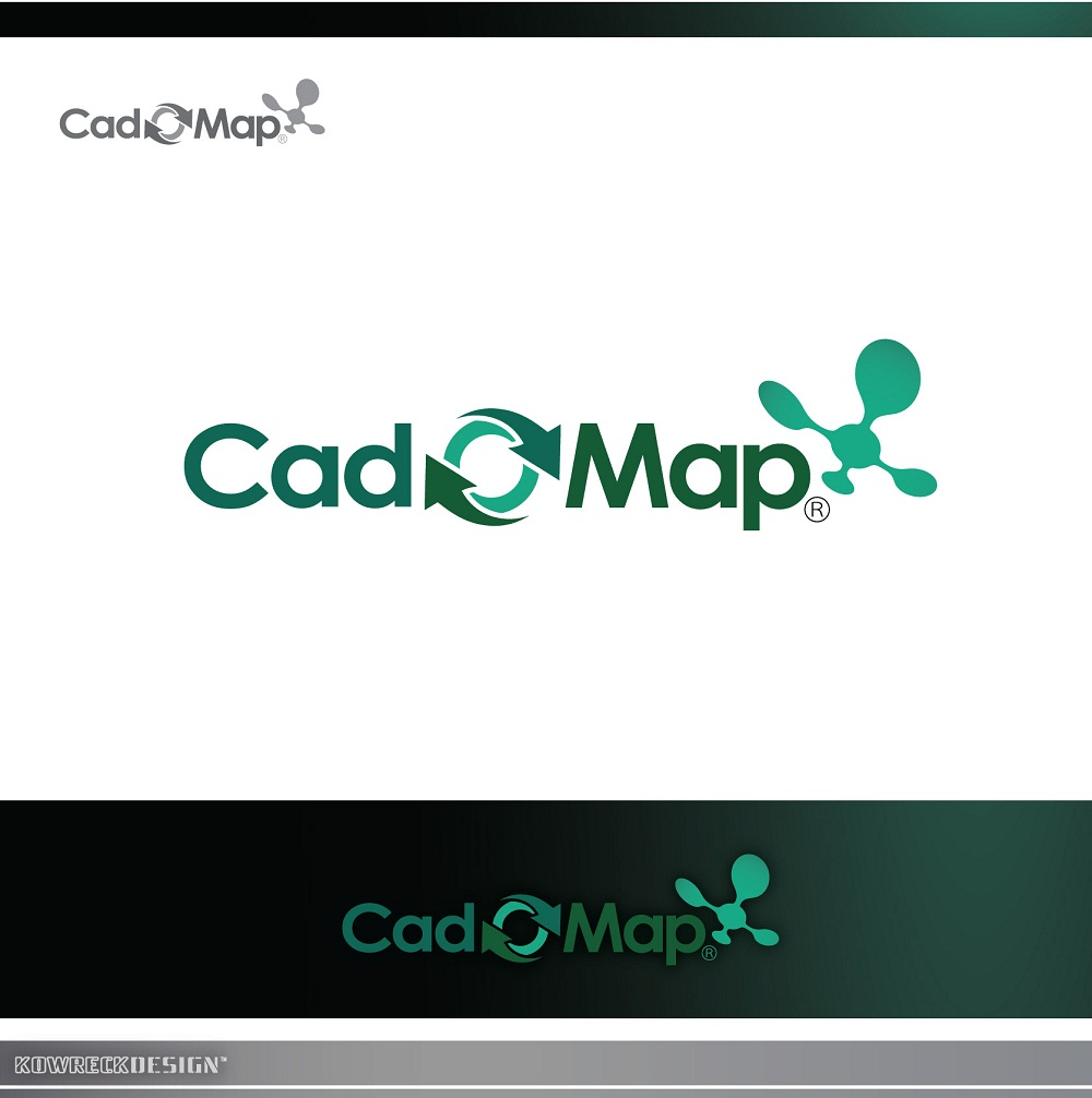 Logo Design by kowreck - Entry No. 132 in the Logo Design Contest Captivating Logo Design for CadOMap software product.
