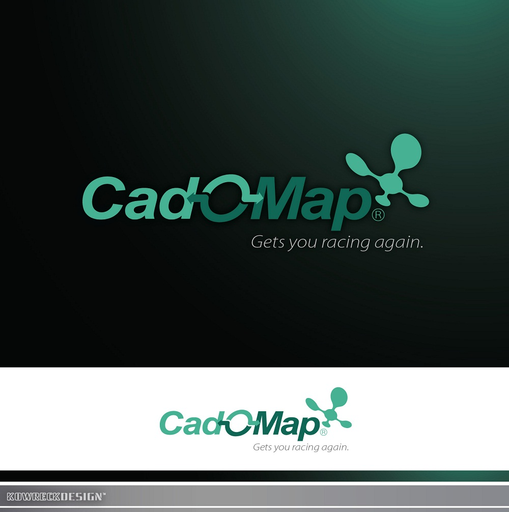 Logo Design by kowreck - Entry No. 136 in the Logo Design Contest Captivating Logo Design for CadOMap software product.