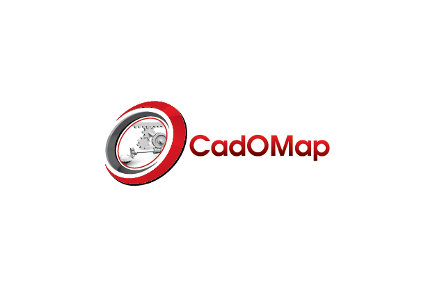 Logo Design by Private User - Entry No. 138 in the Logo Design Contest Captivating Logo Design for CadOMap software product.