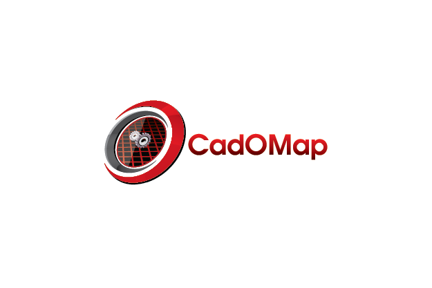 Logo Design by Private User - Entry No. 139 in the Logo Design Contest Captivating Logo Design for CadOMap software product.