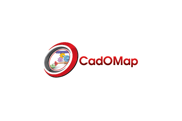 Logo Design by Private User - Entry No. 140 in the Logo Design Contest Captivating Logo Design for CadOMap software product.