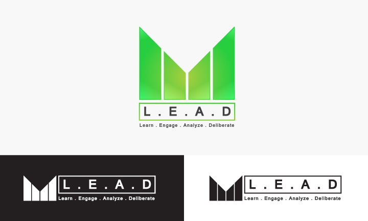 Logo Design by Top Elite - Entry No. 87 in the Logo Design Contest L.E.A.D. (learn, engage, analyze, deliberate) Logo Design.