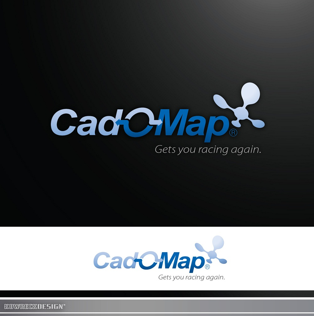 Logo Design by kowreck - Entry No. 141 in the Logo Design Contest Captivating Logo Design for CadOMap software product.