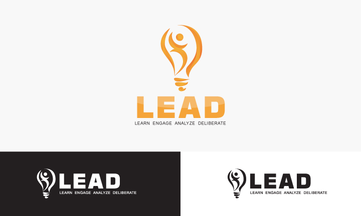 Logo Design by Top Elite - Entry No. 88 in the Logo Design Contest L.E.A.D. (learn, engage, analyze, deliberate) Logo Design.