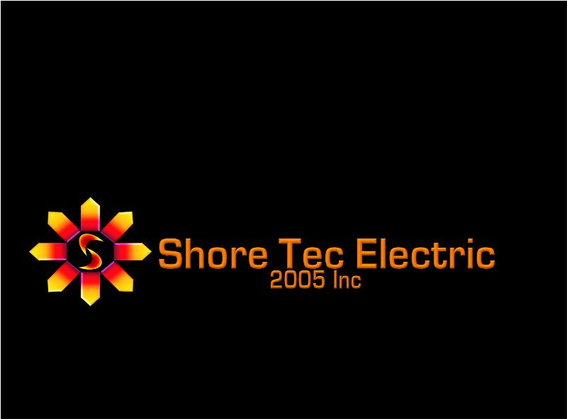 Logo Design by openartposter - Entry No. 78 in the Logo Design Contest Shore Tec Electric 2005 Inc.