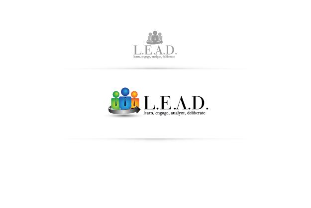 Logo Design by Private User - Entry No. 97 in the Logo Design Contest L.E.A.D. (learn, engage, analyze, deliberate) Logo Design.