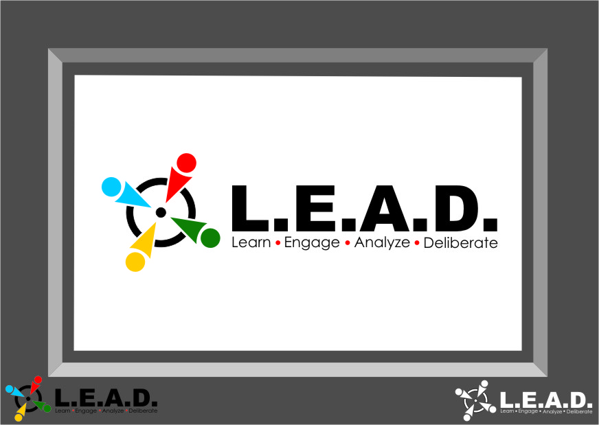 Logo Design by Ngepet_art - Entry No. 112 in the Logo Design Contest L.E.A.D. (learn, engage, analyze, deliberate) Logo Design.