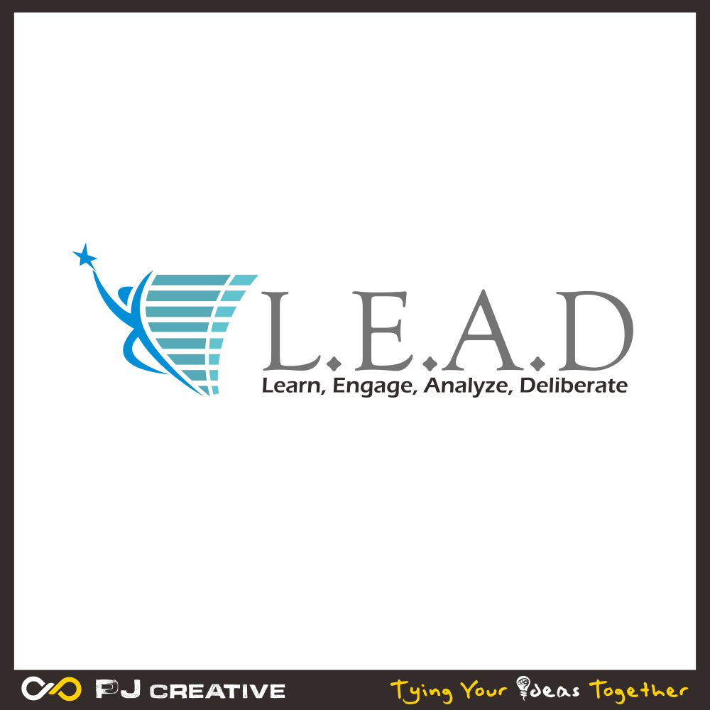 Logo Design by PJD - Entry No. 120 in the Logo Design Contest L.E.A.D. (learn, engage, analyze, deliberate) Logo Design.