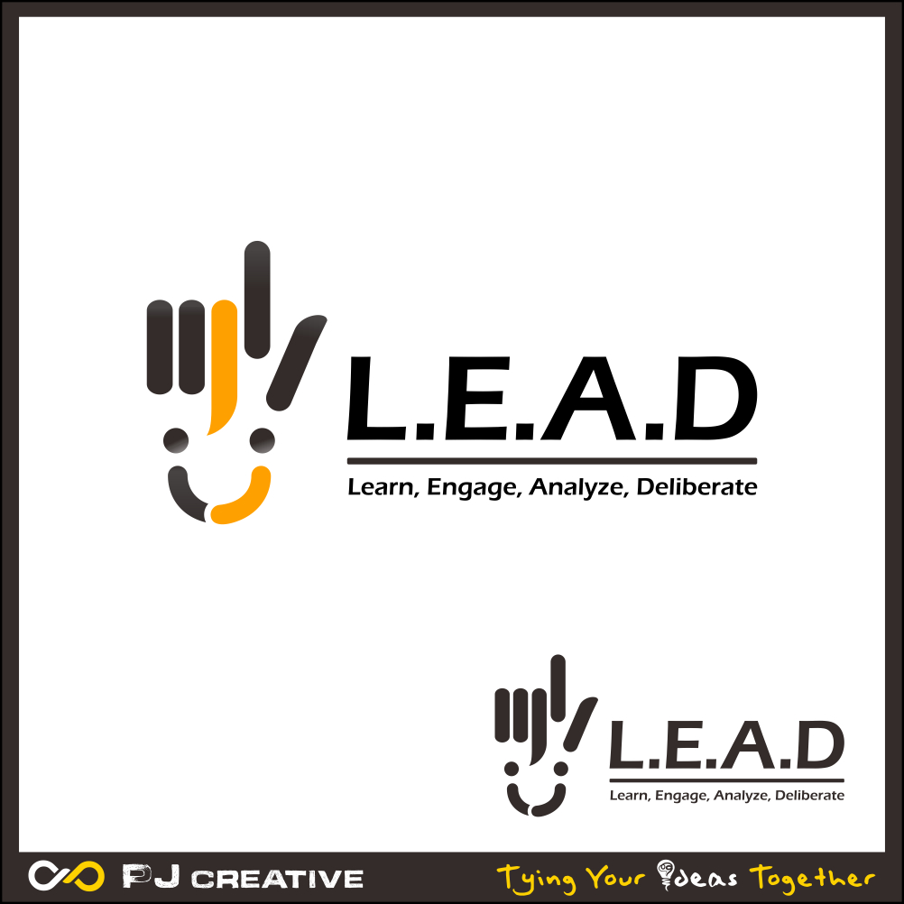 Logo Design by PJD - Entry No. 121 in the Logo Design Contest L.E.A.D. (learn, engage, analyze, deliberate) Logo Design.