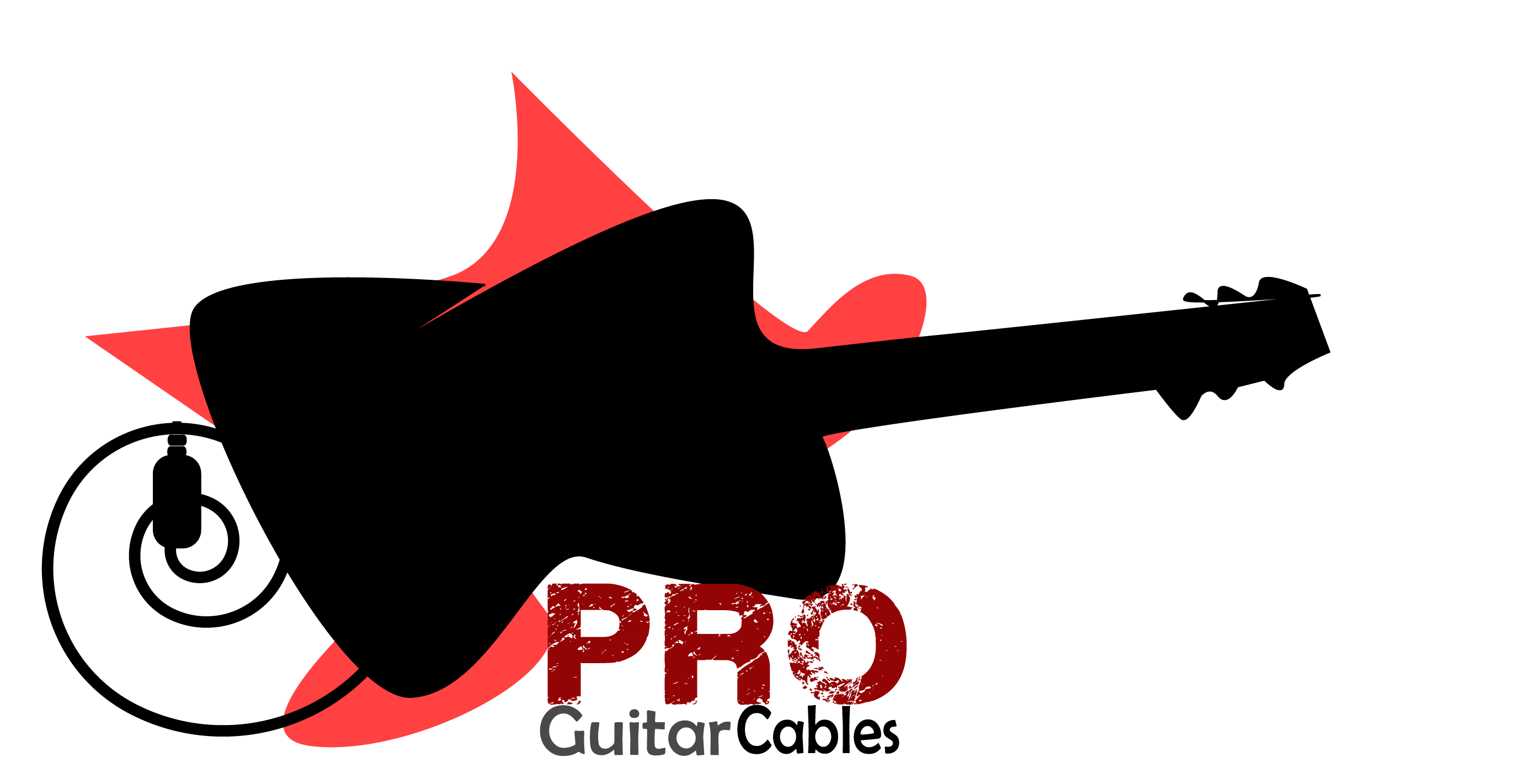 Logo Design by Safal Adam - Entry No. 3 in the Logo Design Contest Pro Guitar Cables Logo Design.