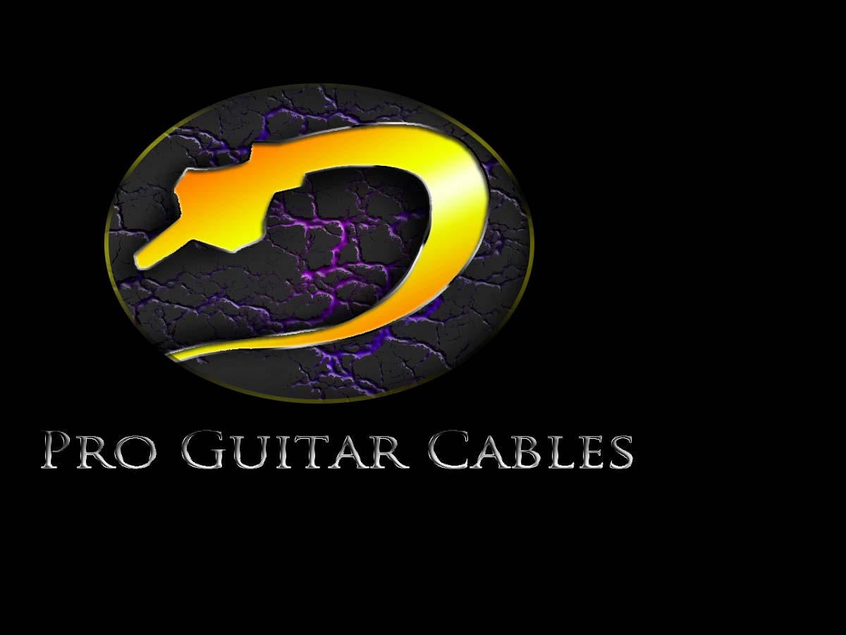 Logo Design by Private User - Entry No. 12 in the Logo Design Contest Pro Guitar Cables Logo Design.