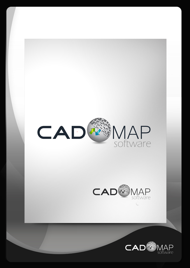 Logo Design by Mark Anthony Moreto Jordan - Entry No. 162 in the Logo Design Contest Captivating Logo Design for CadOMap software product.