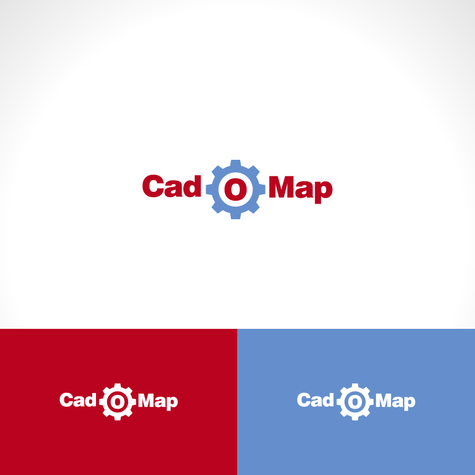 Logo Design by Private User - Entry No. 163 in the Logo Design Contest Captivating Logo Design for CadOMap software product.