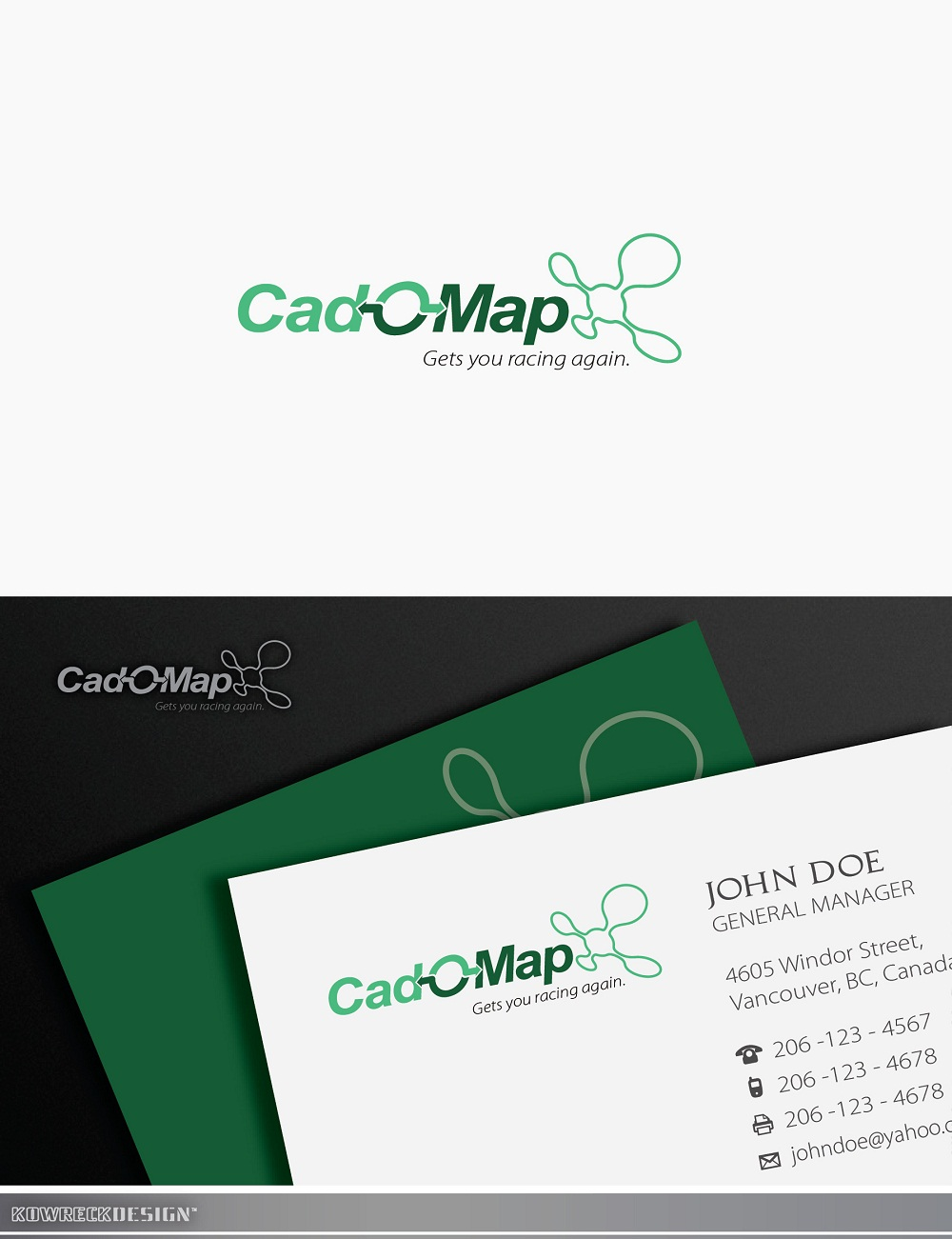 Logo Design by kowreck - Entry No. 165 in the Logo Design Contest Captivating Logo Design for CadOMap software product.