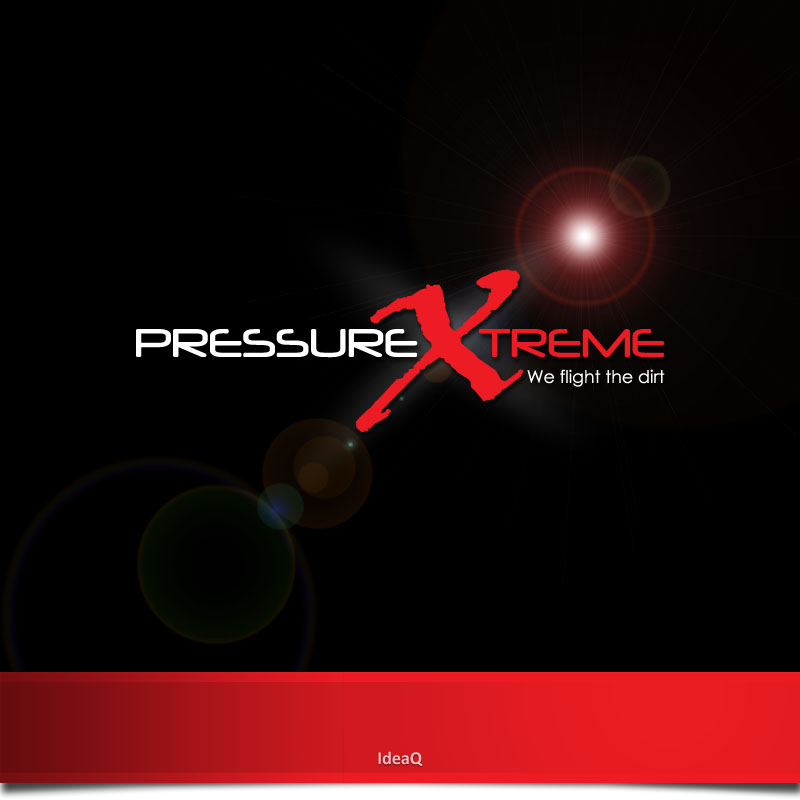 Logo Design by Private User - Entry No. 13 in the Logo Design Contest New Logo Design for PRESSUREXTREME.