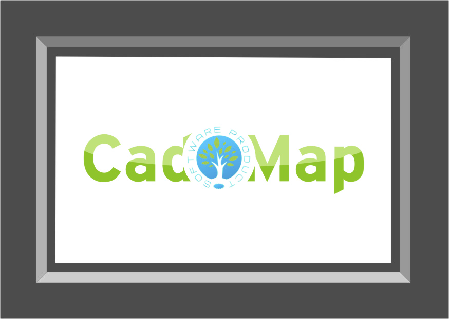 Logo Design by RasYa Muhammad Athaya - Entry No. 166 in the Logo Design Contest Captivating Logo Design for CadOMap software product.
