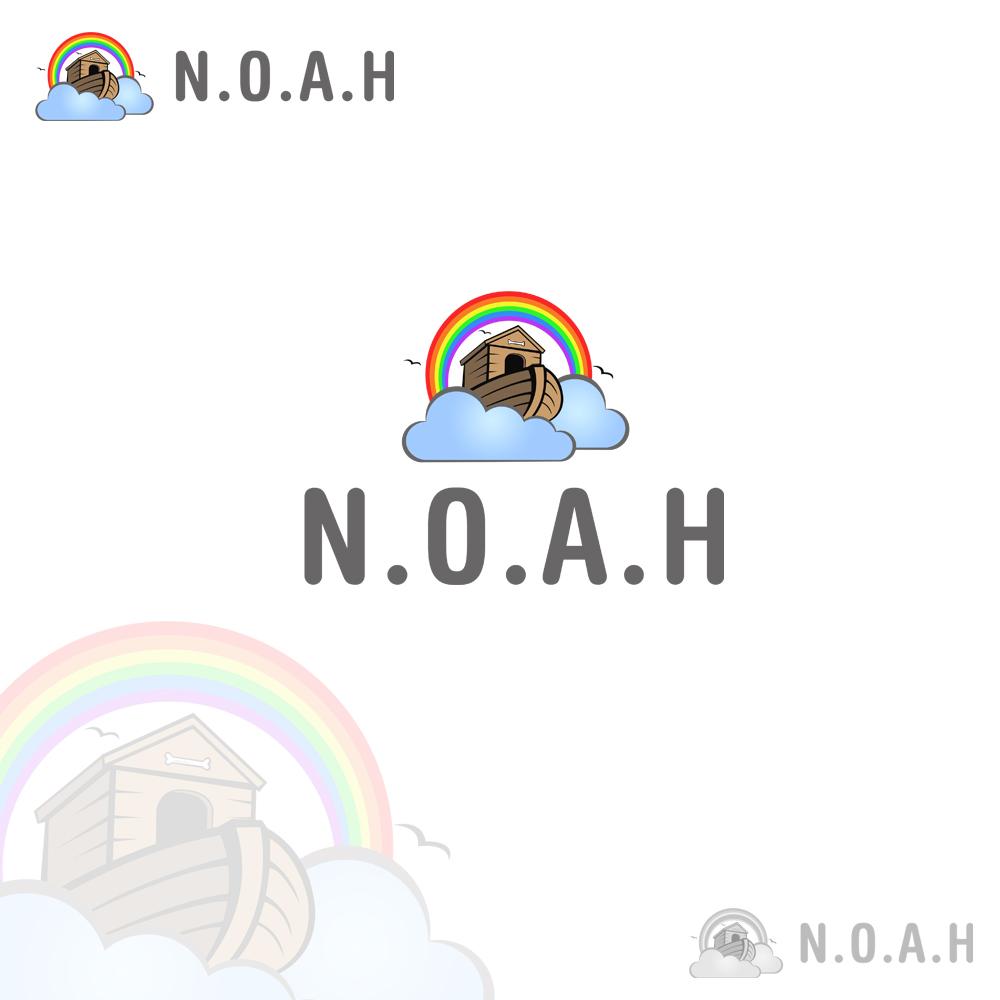 Logo Design by omARTist - Entry No. 4 in the Logo Design Contest Fun Logo Design for N.O.A.H..