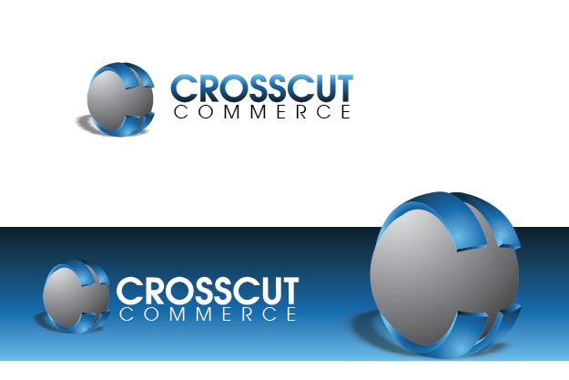 Logo Design by Private User - Entry No. 4 in the Logo Design Contest New Logo Design for CrossCut Commerce.
