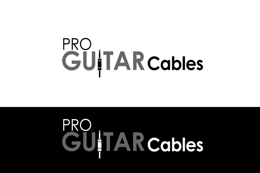 Logo Design by Private User - Entry No. 27 in the Logo Design Contest Pro Guitar Cables Logo Design.